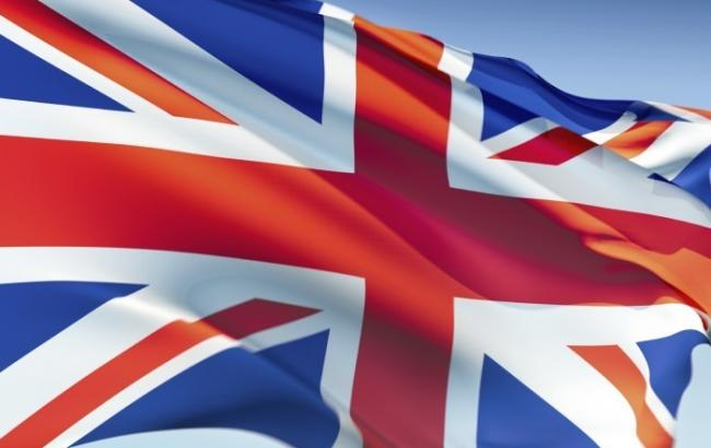 Фото: флаг Велокобритании
