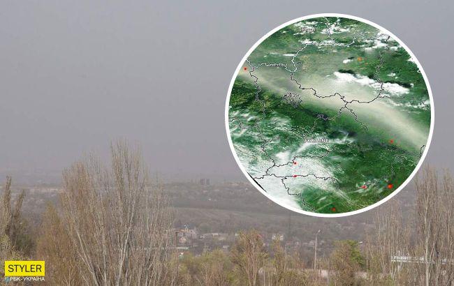 Кривой Рог накрыла пыльная буря: в чем ее опасность и как уберечься