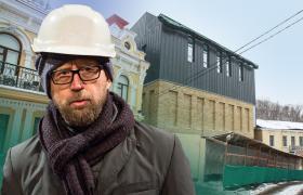 Фото: Новий Театр на Подолі викликав хвилю обурення (Коллаж РБК-Украина)
