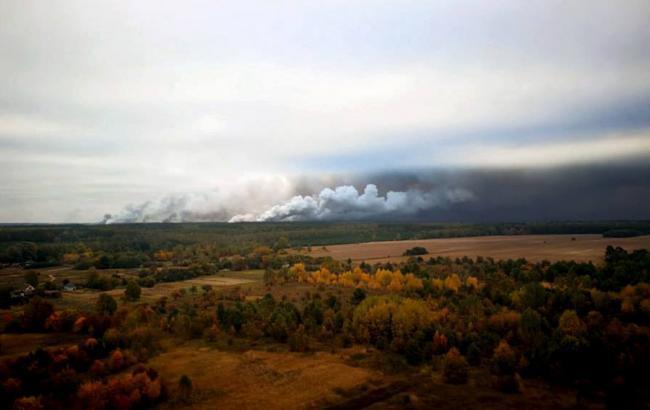 Фото: взрывы в Черниговской области (mil.gov.ua)