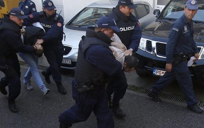 ВСербии задержаны подозреваемые впопытке государственного перелома вЧерногории