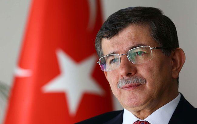 Фото: премьер-министр Турции Ахмет Давутоглу