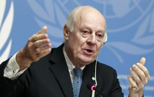 Фото: спецпосланець ООН по Сирії Стеффан де Містура