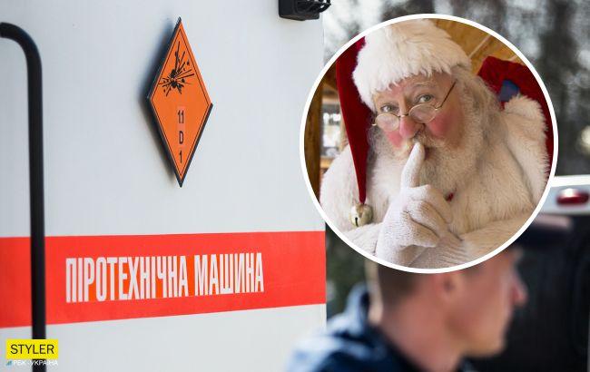 В Тернополе женщина сообщила, что Дед Мороз заминировал авто: как отреагировала полиция