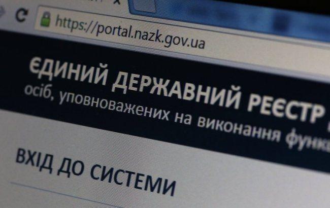 Фото: е-декларування (УНІАН)