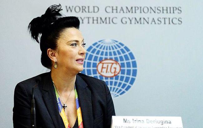 Ирина Дерюгина: У нас под угрозой срыва и подготовка к Олимпиаде, и Чемпионат Европы по художественной гимнастике в Киеве