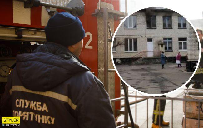 Под Киевом в садике произошел пожар: эвакуировали более 100 детей (видео и фото)