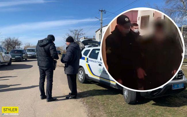 Появилось видео с подозреваемым в убийстве Маши Борисовой: еле волочит ноги