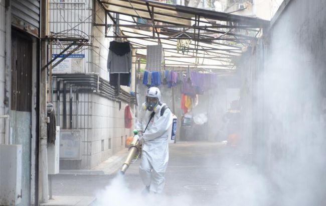 Жертвами коронавируса в Китае стали 2943 человек
