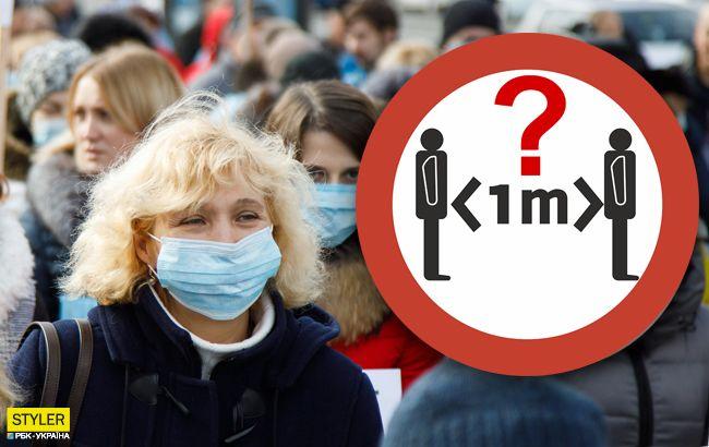Как не заразиться коронавирусом: названа новая безопасная дистанция