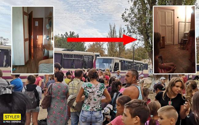Эвакуация из-за химической катастрофы в Армянске: в сети показали, как работает пропаганда Кремля (фото)