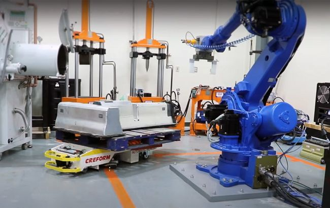Создан робот для разборки и утилизации батарей электромобилей