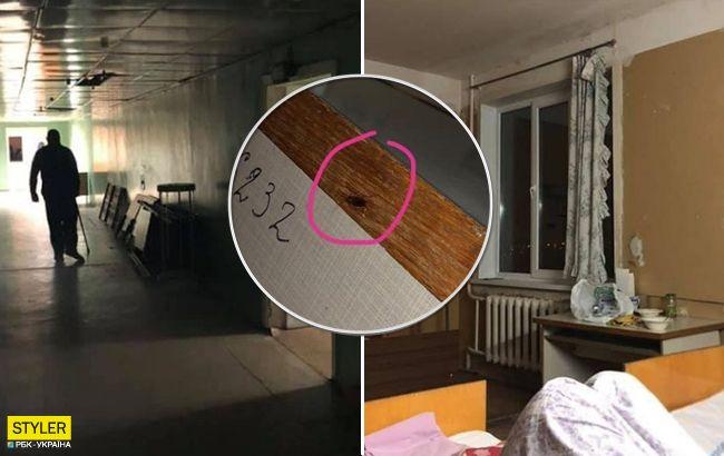 В больнице Днепра шокированы обстановкой: вымогательство, вонь и тараканы