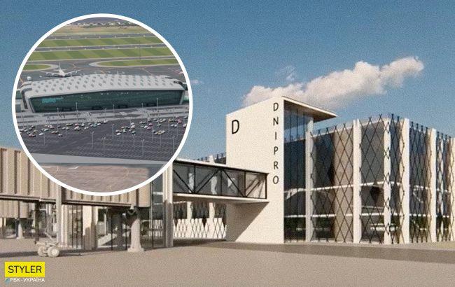У Дніпрі будують новий аеропорт: яким він буде (фото)