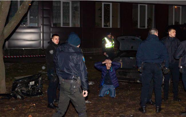У Дніпрі під час втечі від поліції водій збив трьох пішоходів