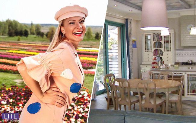 Звезда украинского ТВ впервые показала свой роскошный дом с дорогущим гардеробом (видео)