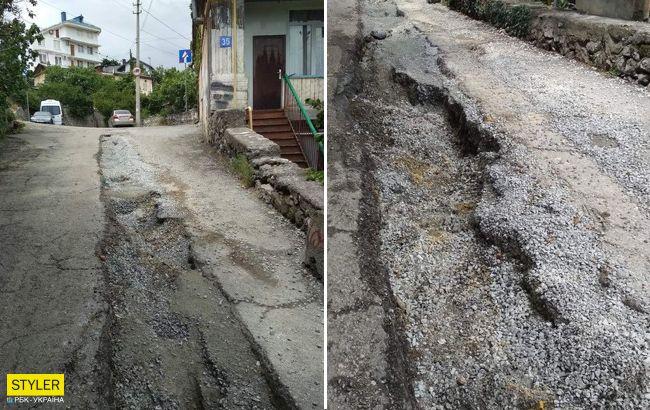 У мережі показали сумний стан курортного міста в Криму: тепер живіть з цим