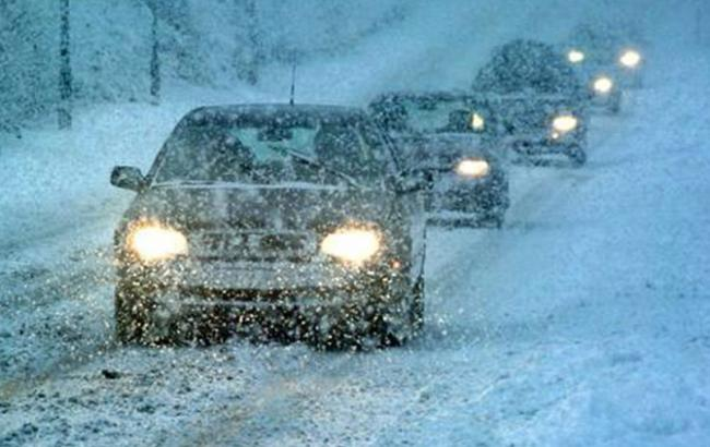 Фото: снігопади в Україні