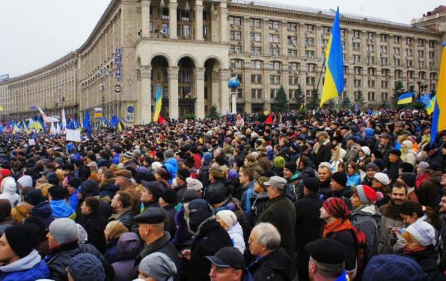 Фото: в Украине 21 ноября пройдут массовые мероприятия по случаю Дня достоинства и свободы