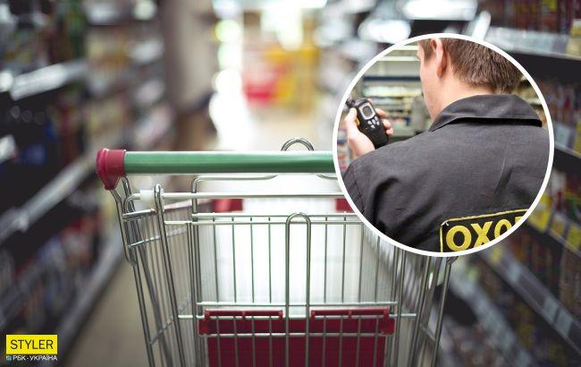 У супермаркеті Києва охоронець побився з жінкою через маску: кого і як в підсумку покарали