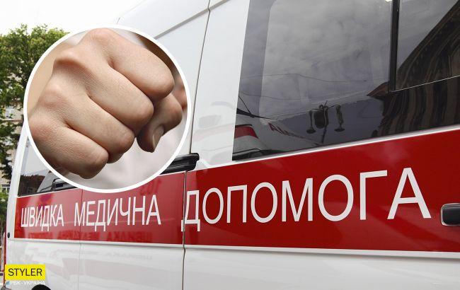 В Николаеве пассажиры маршрутки избили дальнобойщика (видео)