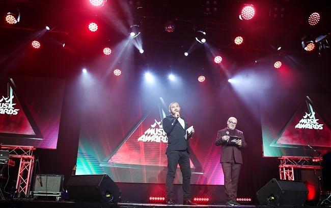 Фото: Оглашение номинантов премии M1 Music Awards 2017 (пресс-служба)