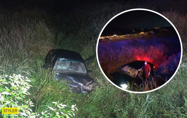Вез нетрезвых взрослых: появилось видео трагической авария возле Львова, в которой погиб 11-летний водитель