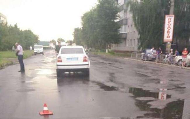 У Конотопі автівка начальника поліції збила дитину на переході