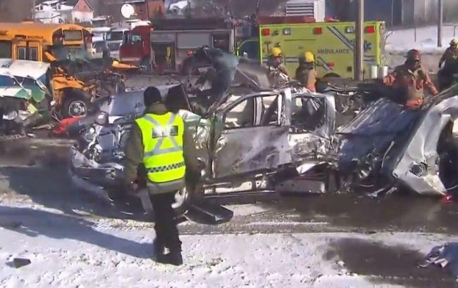 У Канаді зіткнулися 200 авто: десятки постраждалих, є загиблі