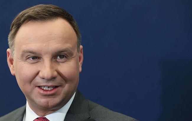 Дуда назвав агресію Росії проти Грузії зламним моментом в історії Європи