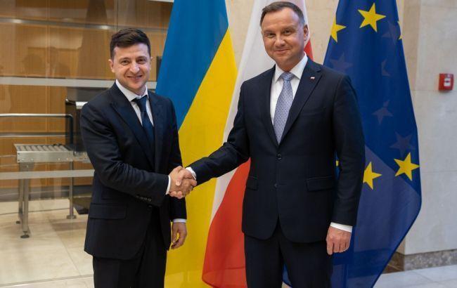 Зеленский и Дуда проведут встречу в Польше