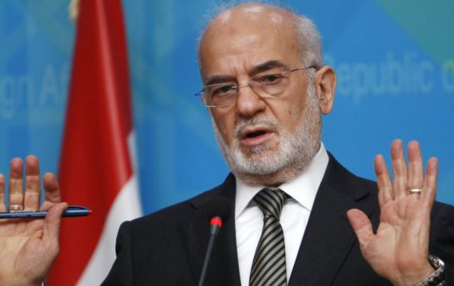 Фото: министр иностранных дел Ирака Ибрагим аль-Джафари