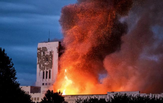 В Ливерпуле произошел пожар одной из главных достопримечательностей города