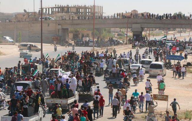 40 000 сирийцев стали беженцами за последние сутки