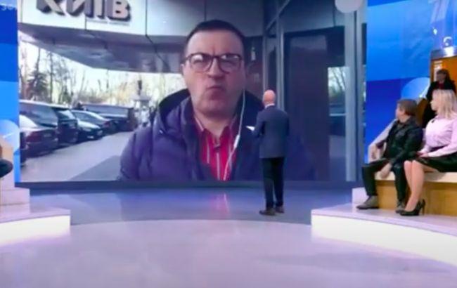 """За гроші виступав на російських каналах: СБУ повідомила про підозру """"експертові"""""""