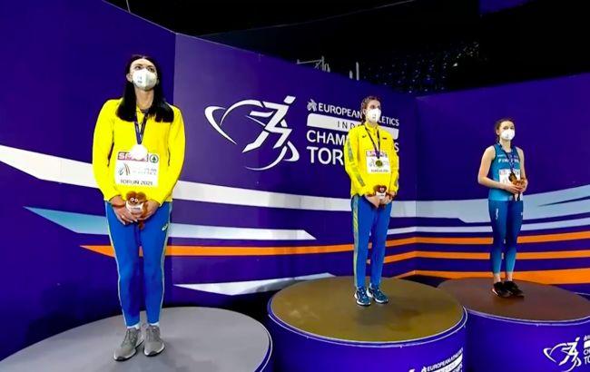 """Украинки взяли """"золото"""" и """"серебро"""" по прыжкам в высоту на чемпионате Европы"""