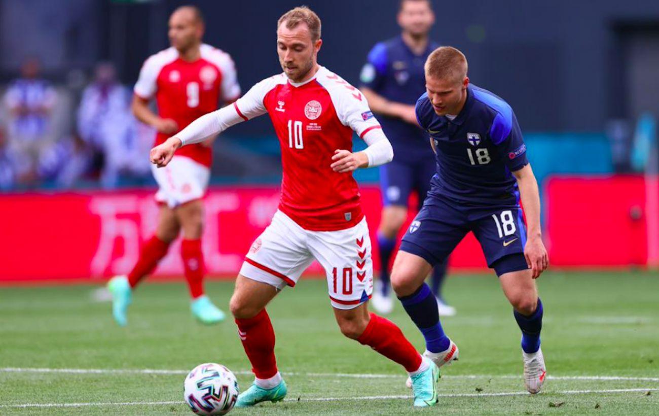 Эриксен в стабильном состоянии после остановки сердца в матче Дания - Финляндия