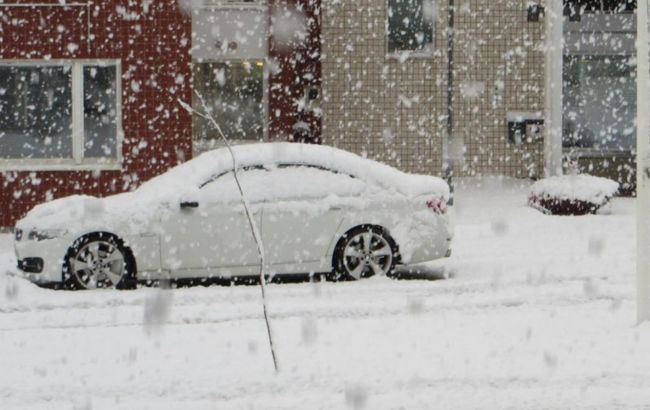 На півночі Фінляндії випав перший сніг