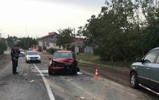 В Одесской области в ДТП погиб водитель и пострадали двое детей