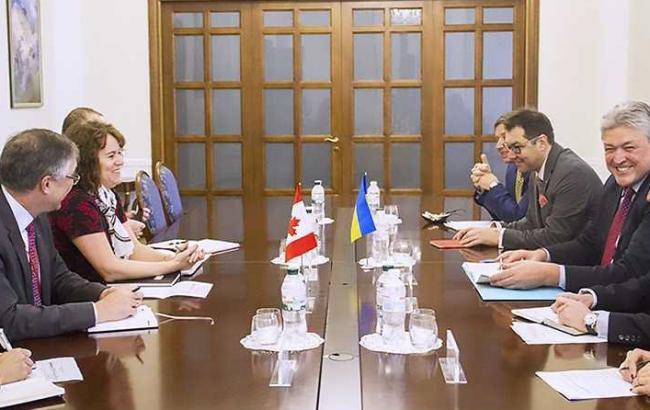 У Києві відбулись українсько-канадаські політичні консультації