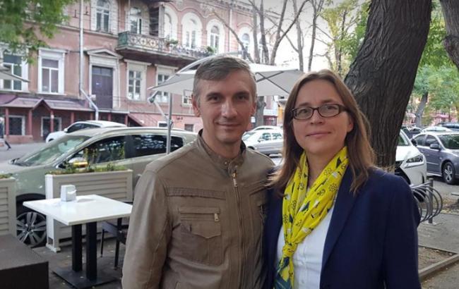 Фото: Вайдеманн и Миша (facebook.com/EUDelegationUkraine)