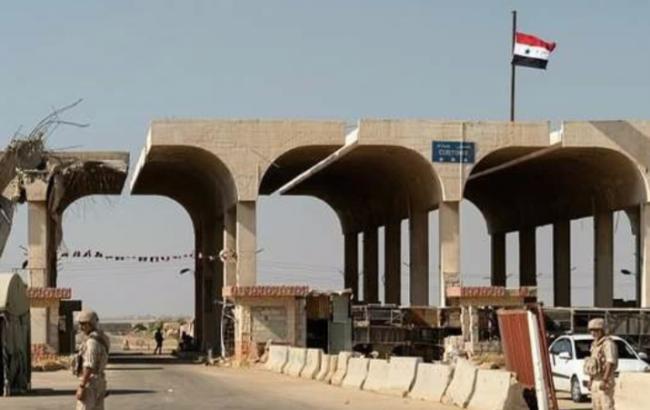 Сирия возобновила пункт пропуска на границе с Иорданией
