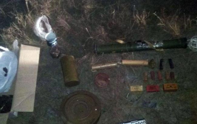 В Донецкой области полиция обнаружила арсенал боеприпасов