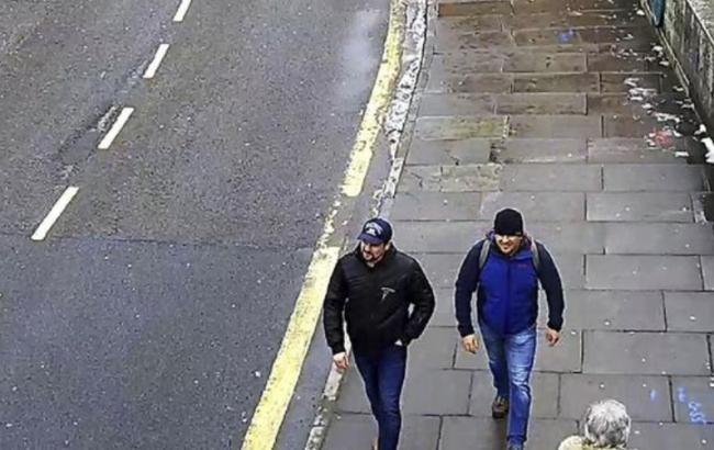 Отруєння Скрипалів: поліція опублікувала нові відео підозрюваних