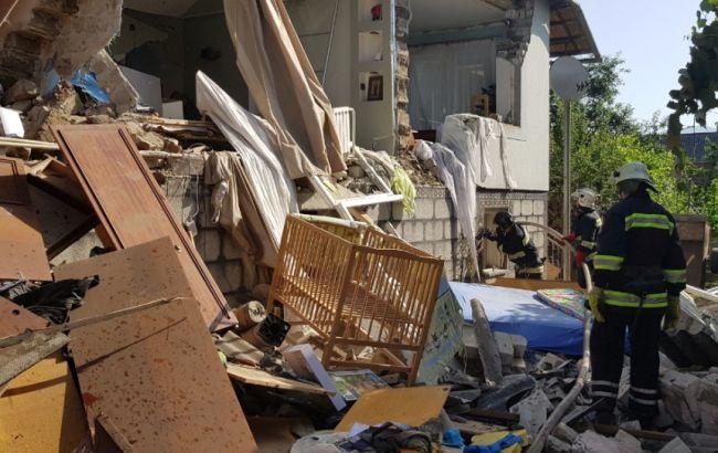 У Закарпатській обл. вибух газу зруйнував будинок, є постраждалі
