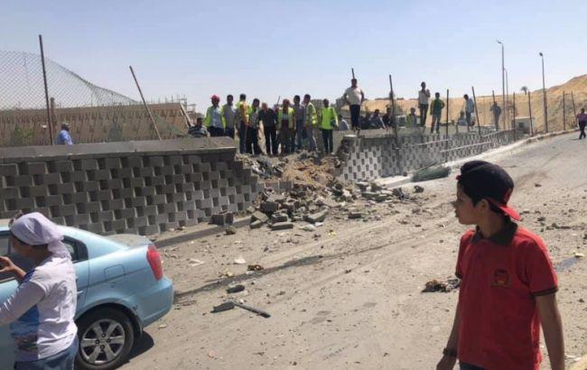 В Египте около автобуса с туристами прогремел взрыв, пострадало более 10 человек