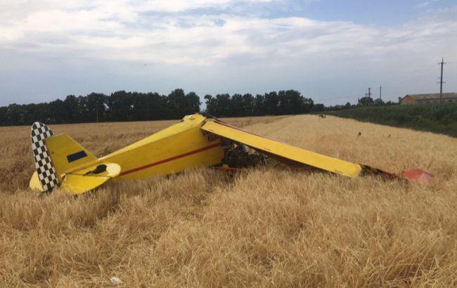 В Полтавской обл. разбился легкомоторный самолет, есть жертвы