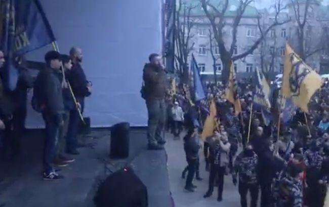 У Черкасах поліція затримала двох організаторів сутичок з поліцією