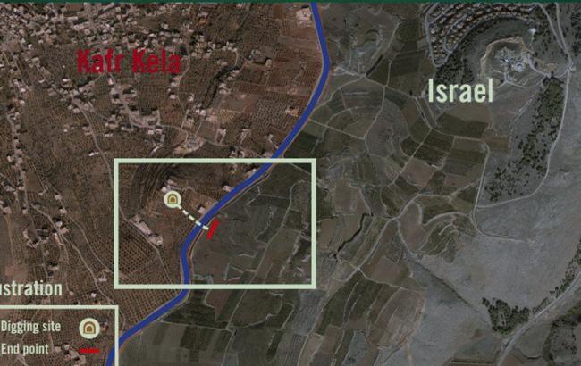"""Израиль на границе с Ливаном начал операцию уничтожения """"туннеля террора"""""""