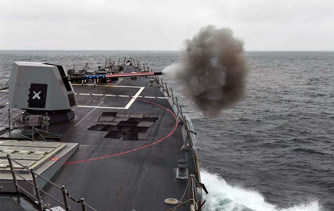 Американский эсминец подошел к берегам Сирии, - Hurriyet
